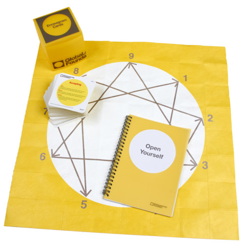 Enneagram cards with map and guide book